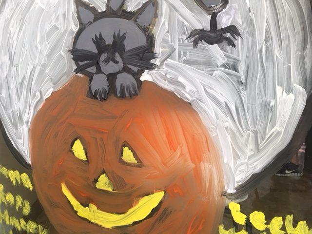 Falls Church Halloween Windows