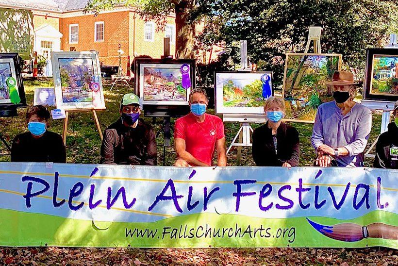 "2020 Falls Church ""Scenes in the City"" Plein Air Festival Prize Winners"