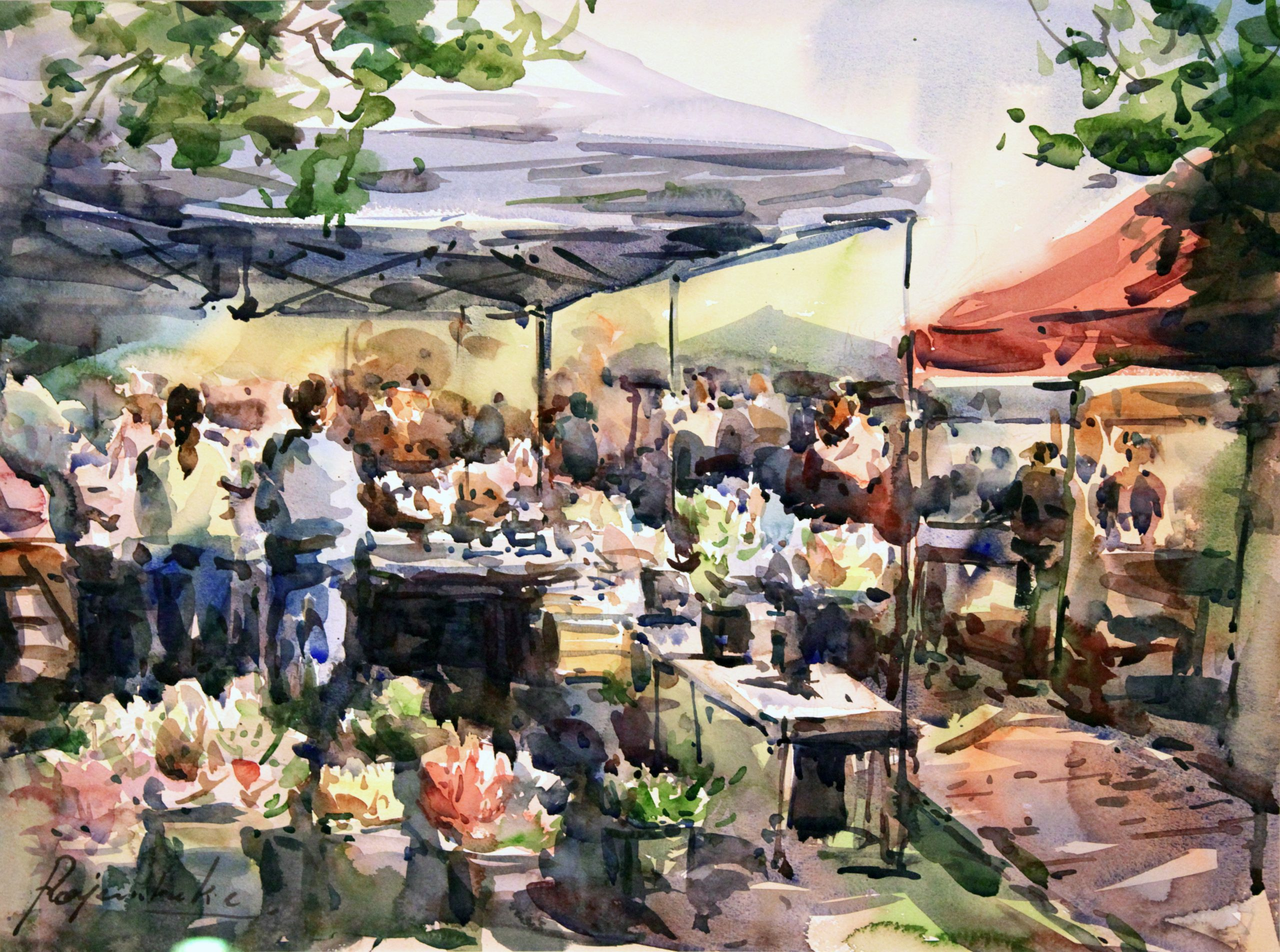"""2021 Falls Church Arts """"Scenes in the City"""" Plein Air Festival – extended to Oct. 23"""