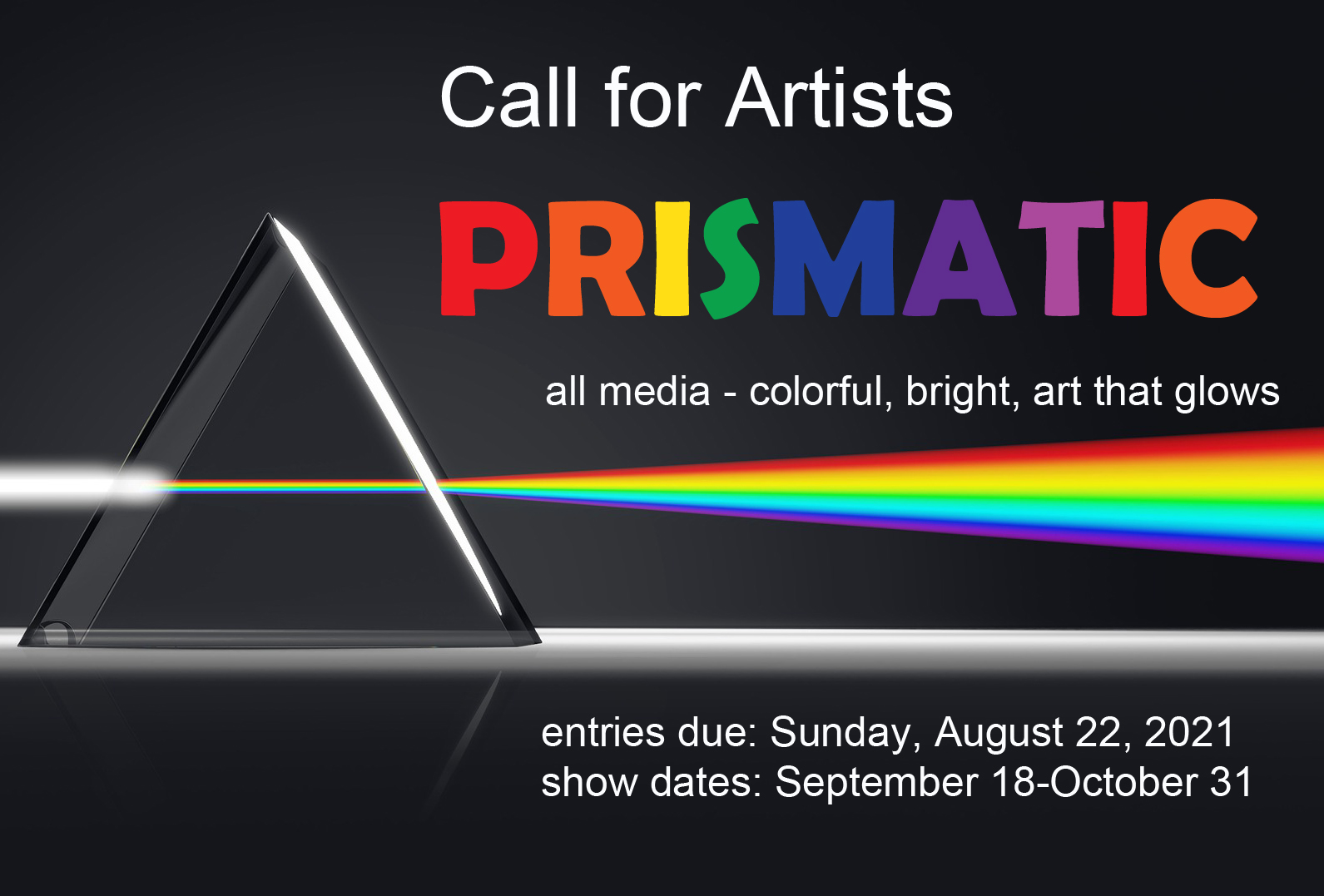 CALL FOR ARTISTS – Prismatic